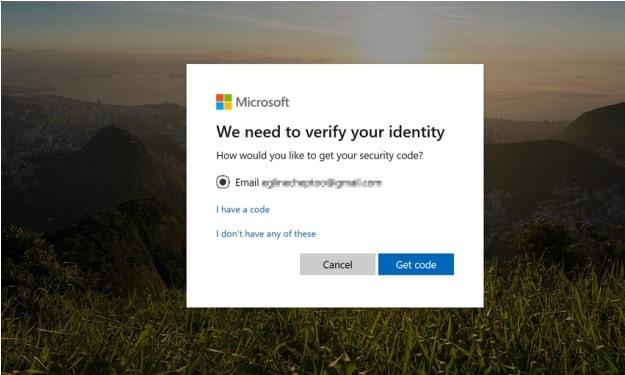 microsoft verify identity