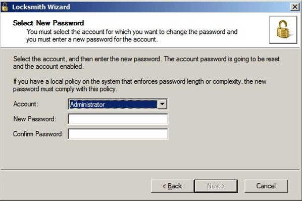 reset password with msdart