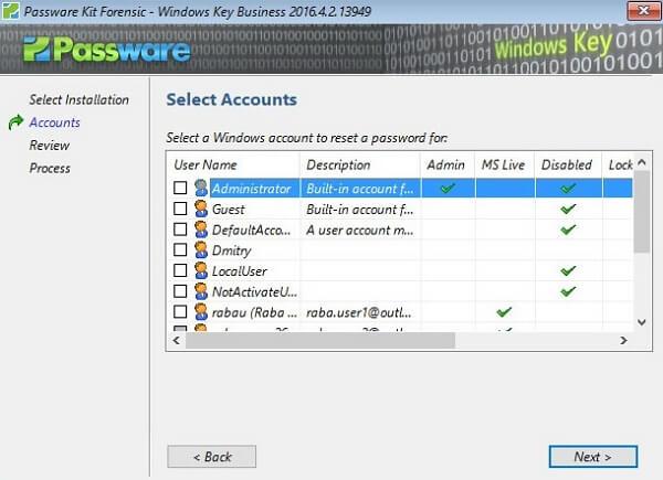 passware windows key