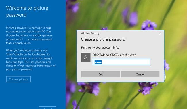 picture password