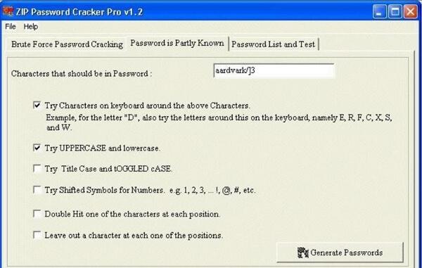 zip password cracker pro