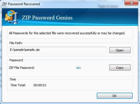 zip password genius