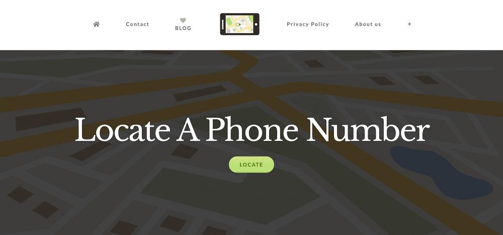 使用Locate a phone number