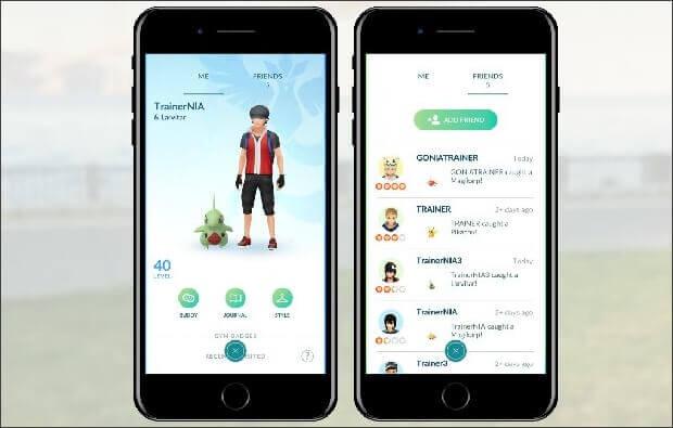 Pokémon GO好友