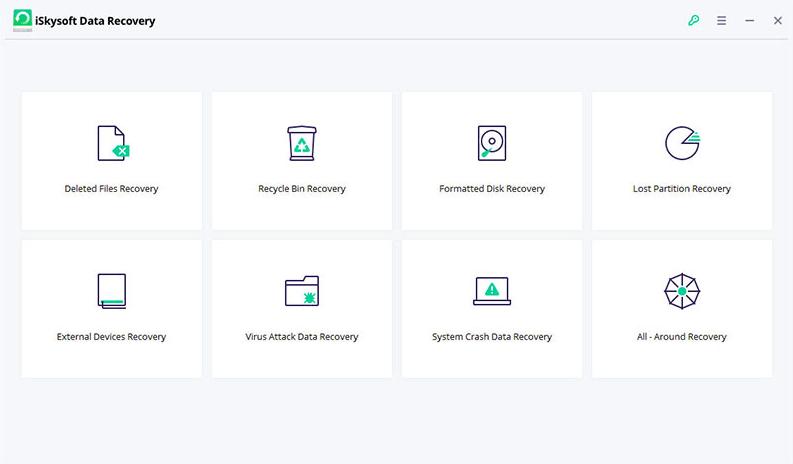 iSkysoft影片恢復軟體
