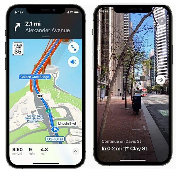 iOS 15地圖更新