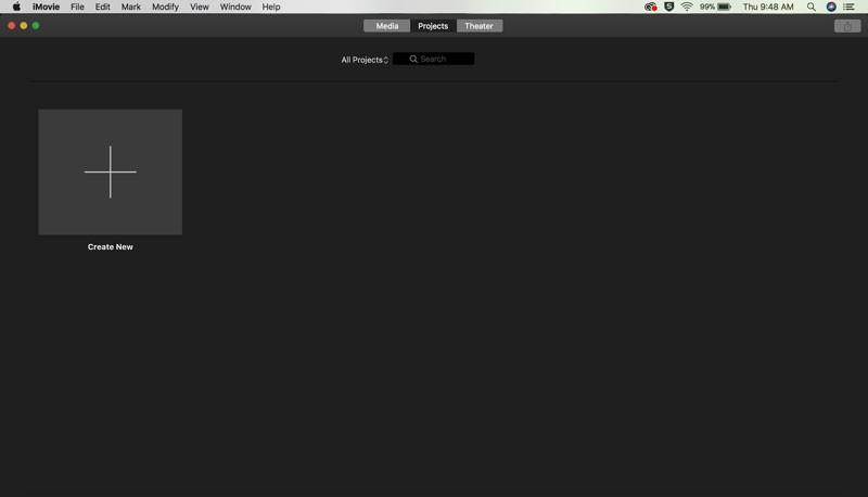在iMovie添加影片