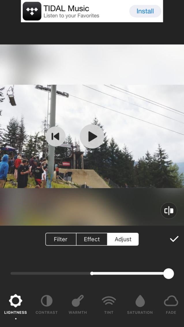 InShot增亮影片