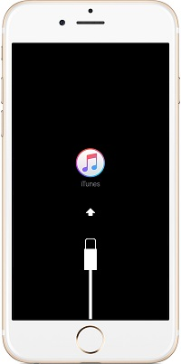 iPhone stuck on connect to iTunes