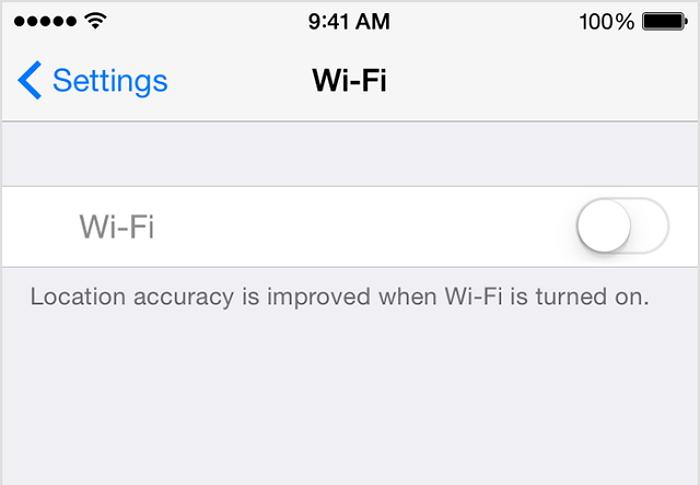 關閉wifi