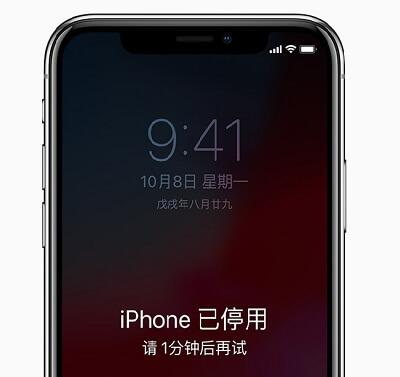 已停用iPhone 連接iTunes