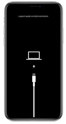 iPhone進入回復模式