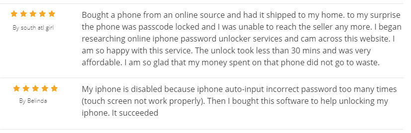 iMyFone LockWiper用戶反饋