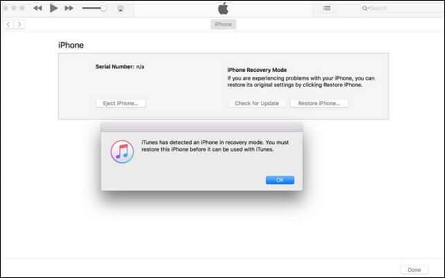 透過iTunes將iPhone回復原廠設定