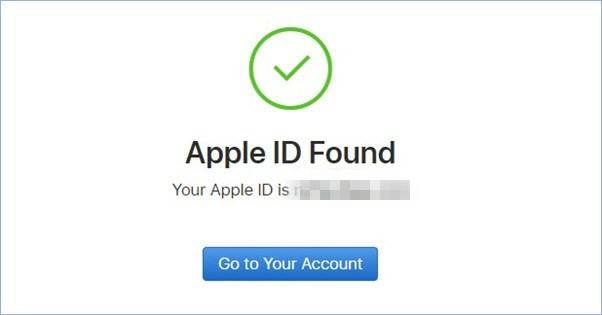 找回 apple id
