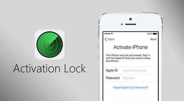 icloud lock activate