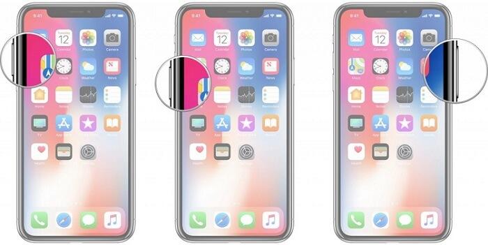 強制重啟iPhone 8或更新機型
