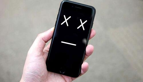 iPhone 卡住