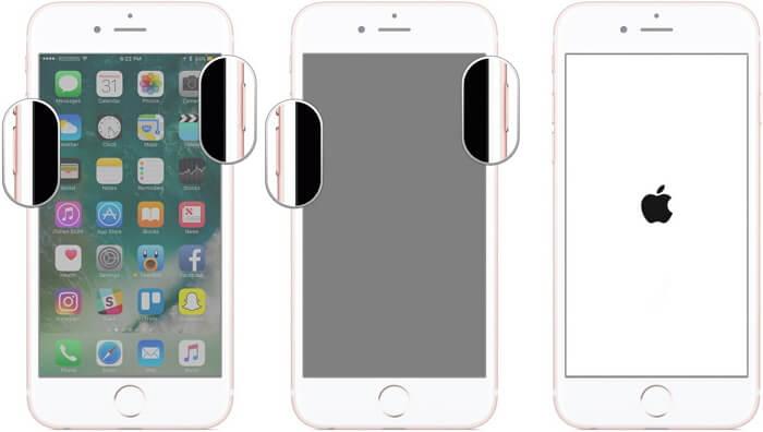 iPhone 7進入DFU模式