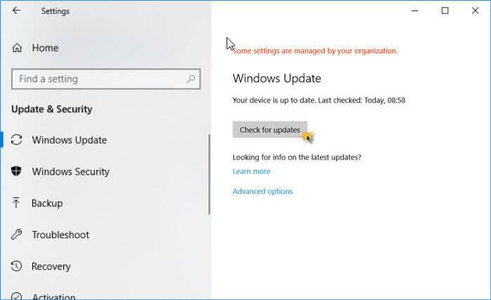 更新windows