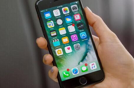 恢復出廠設置的iPhone 7