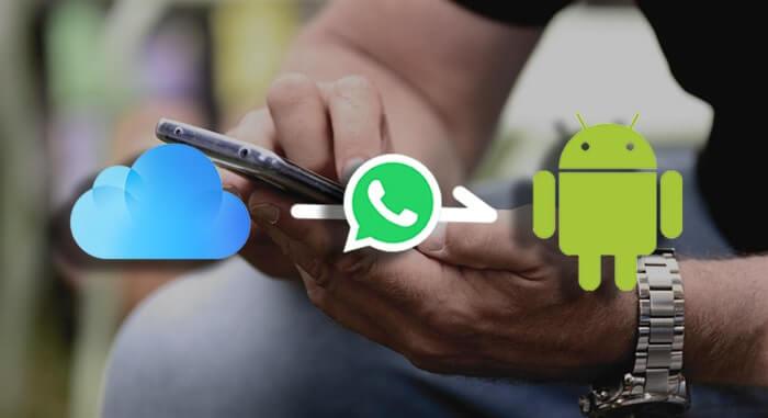 WhatsApp沒有直接的方式透過iCloud傳輸至OnePlus