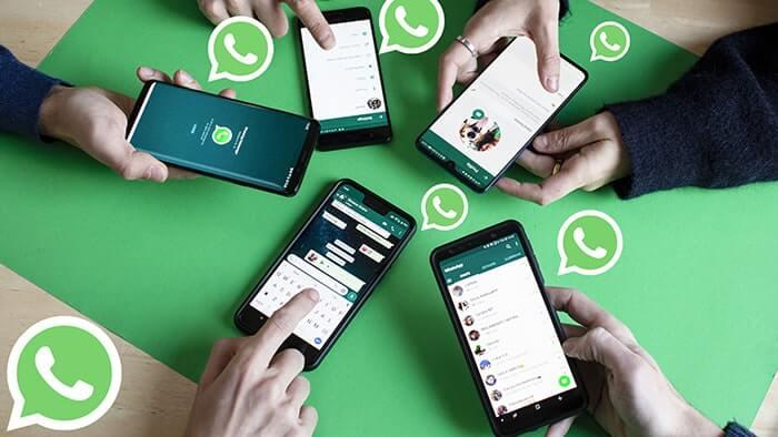 共享WhatsApp數據給他人