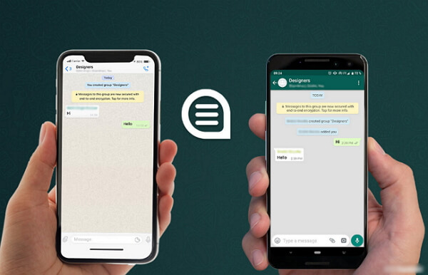 whatsapp iphone to android