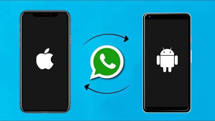 WhatsApp數據傳輸