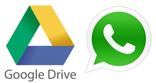 whatsapp google 雲端硬碟