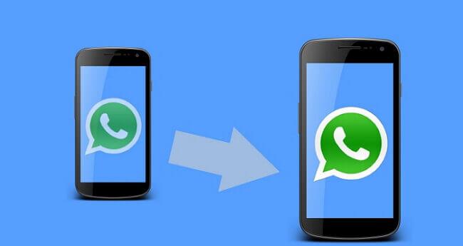 將WhatsApp轉移到具有相同號碼的新手機