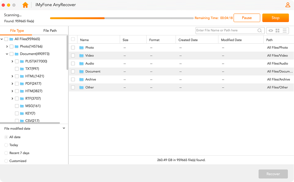 AnyRecover step pic