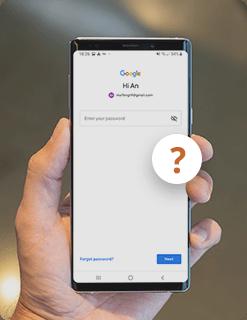未知的Google密碼