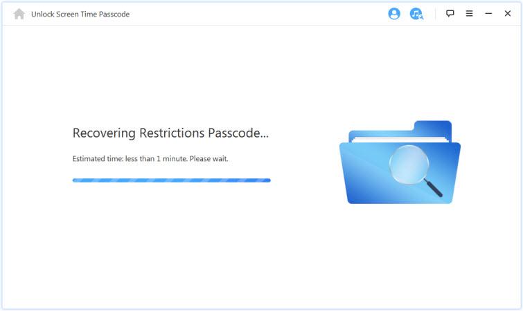 回復限制使用密碼